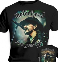 T-SHIRT MOTÖRHEAD CLEAN YOUR CLOCK