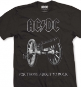 T-SHIRT AC/DC FOR THOSE ABOUT TO ROCK