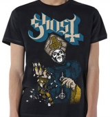 T-SHIRT GHOST PAPA OF THE WORLD