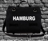 BAG HAMBURG BIG COTTON black